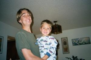 Music Man and Sports Boy Jan 2002