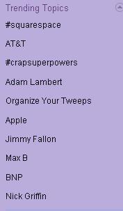 060909 trending topics