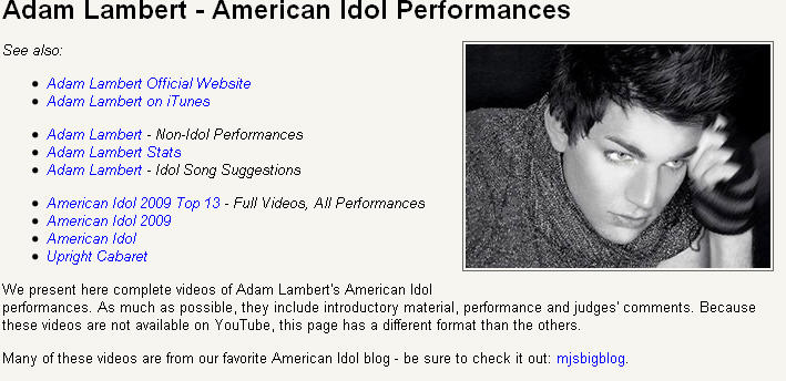 Adam_AllPerformances