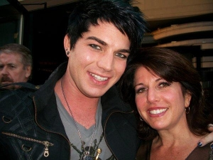Adam with his mom