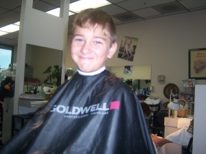 In between. Flashback to the 90s bowl cuts anyone?