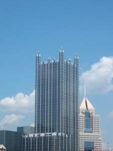 Cool building that looks like it belongs in a Batman movie