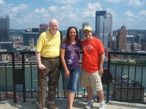 Ed, me, & Bill at the overlook