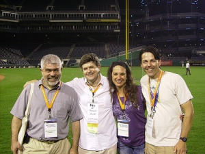 Me with The Boys  and ??? at PNC Park