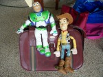 Buzz Lightyear & Woody puppets
