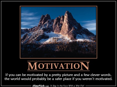 re establishing motivation You can make a lot of money as an entrepreneur, but you are more likely to go  broke for some people, that combination is irresistible.