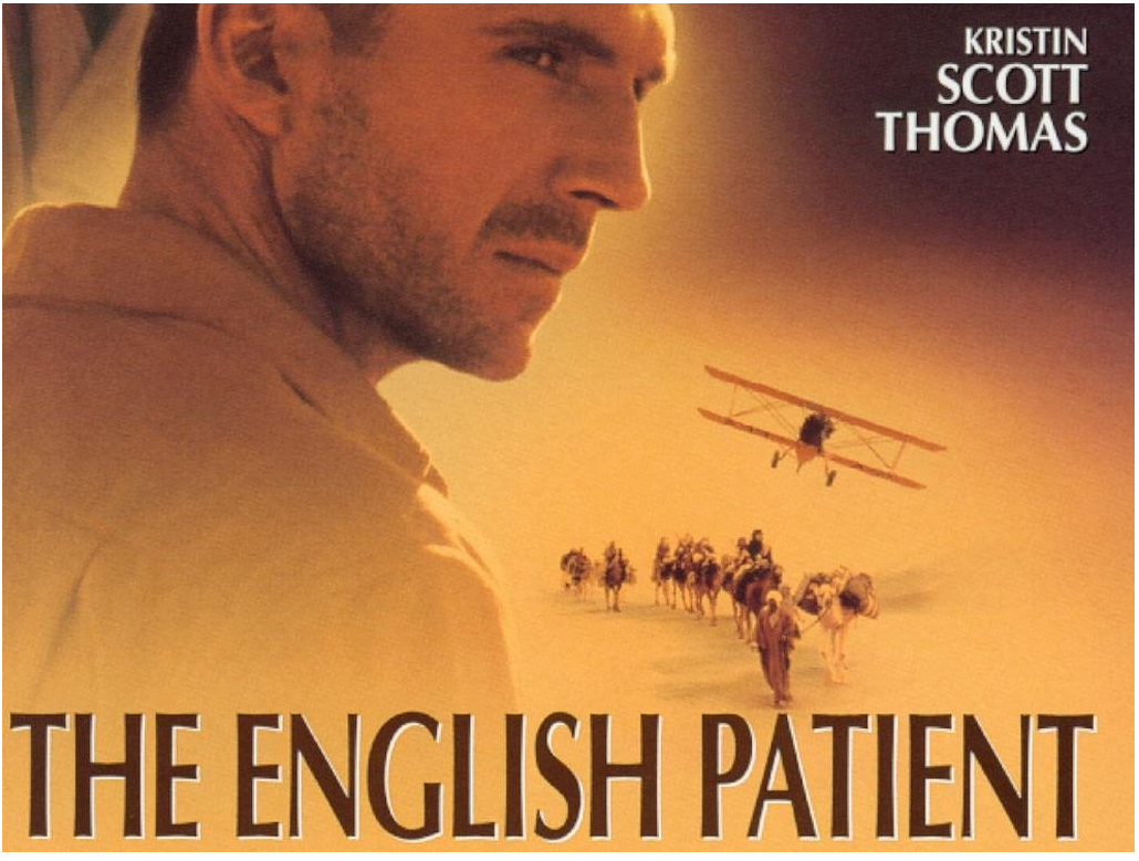 the english patient Order the english patient at bncom previous next take a study break pick 5 novels and we'll tell you your hogwarts house what shakespeare characters would watch.