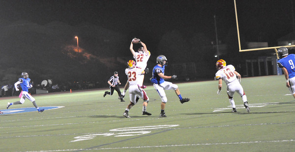 The second interception of the night by #22