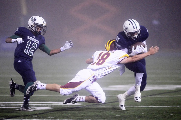 Adding insult to injury, there was an onside kick that took a crazy bounce right in front of him which he couldn't get