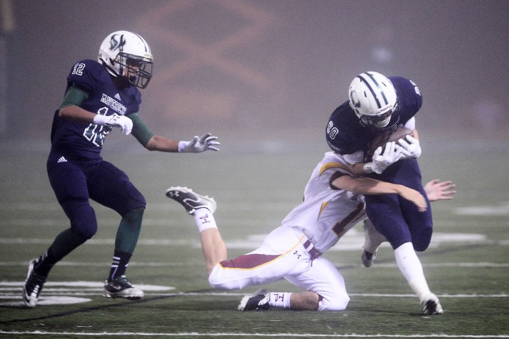 At least he did tackle the guy.