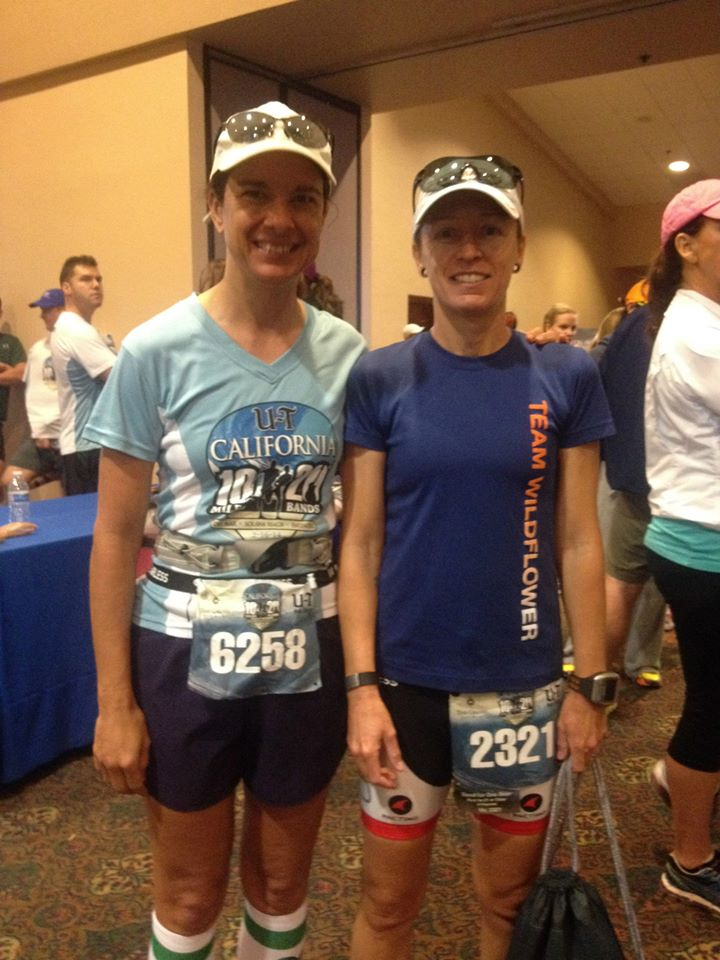 Pre-race, or as Renee put it, before the torture.