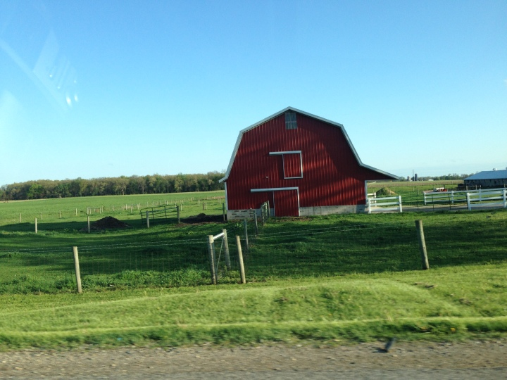 Barn in Amish country.