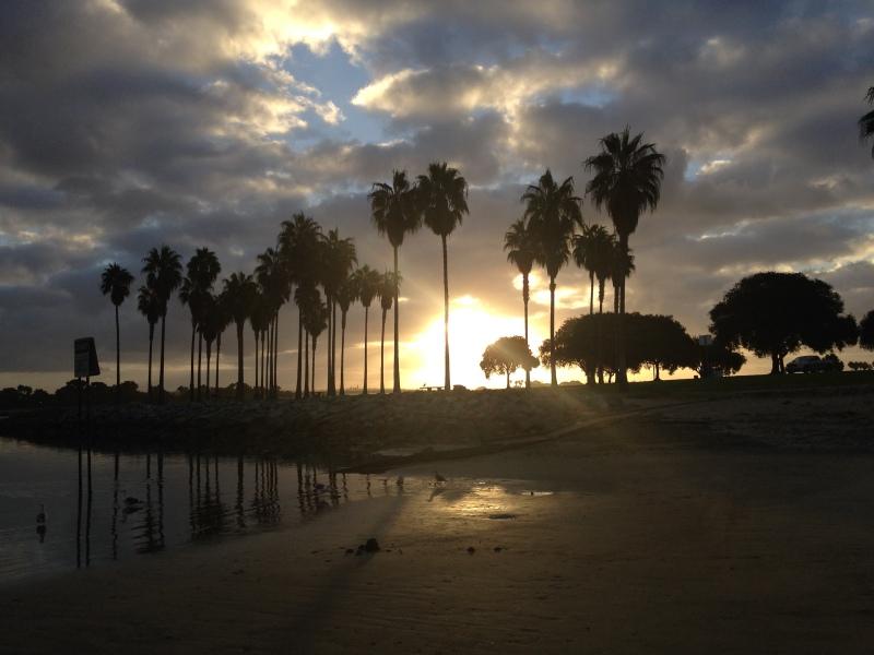 Sunrise at Ventura Cove