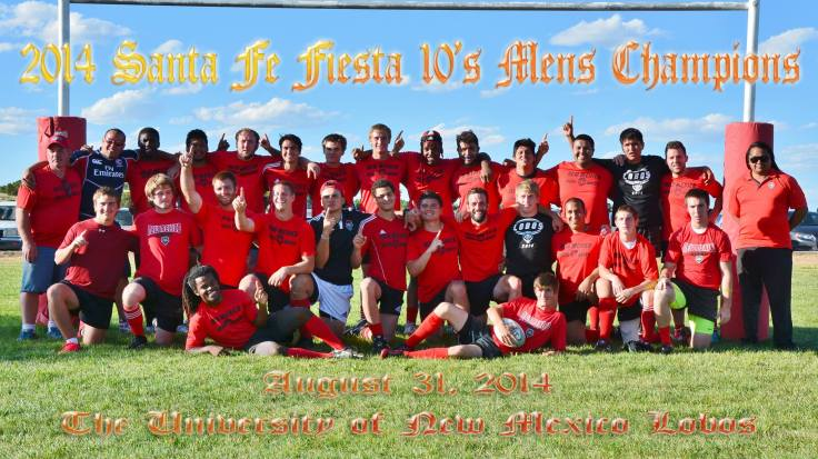Team photo from the Santa Fe victory.