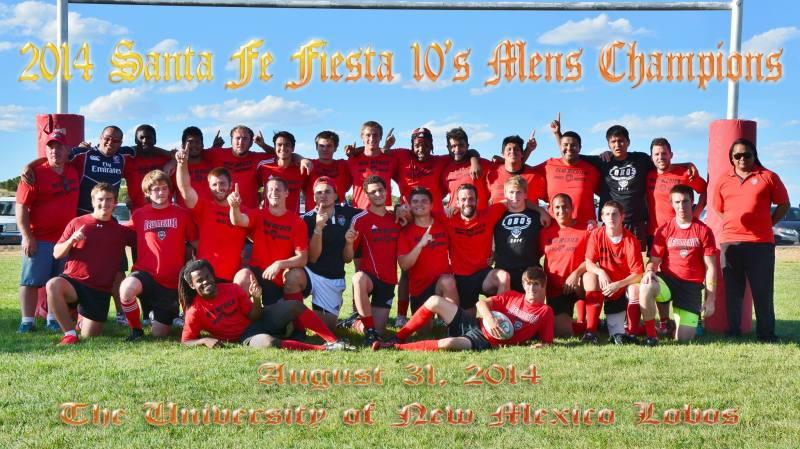 Team photo from the Santa Fe victory.