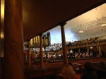 Inside the current rehearsal hall for the Mormon Tabernacle Choir